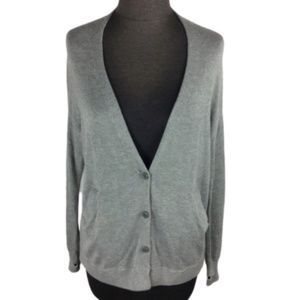 Lululemon Cardi in the Front Button Up Gray Size 2